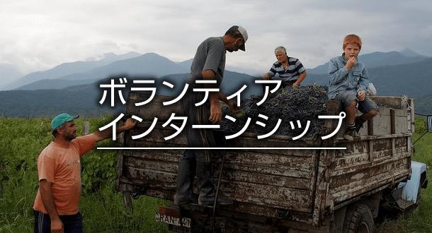 海外でボランティア・インターンシップ